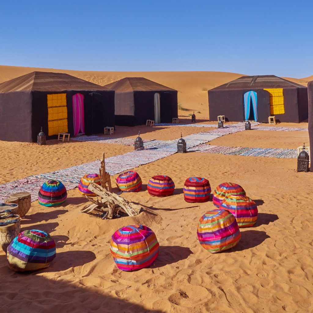 4 Days Tour from Fes to Marrakech via Erg Chebbi dunes in Merzouga