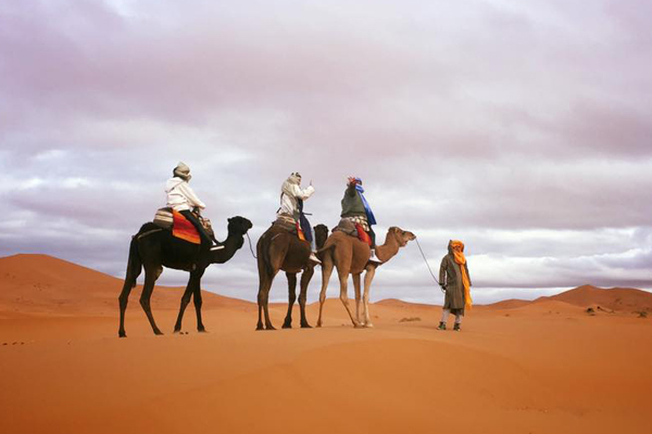3 Days Trip From Fes To Marrakech Via Desert Sahara