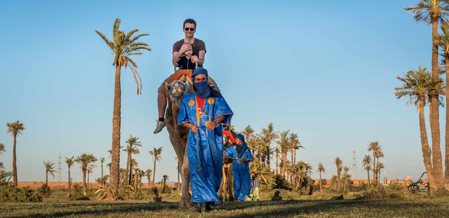 Sunset Tour & Camel Ride At Palm Grove Of Marrakech