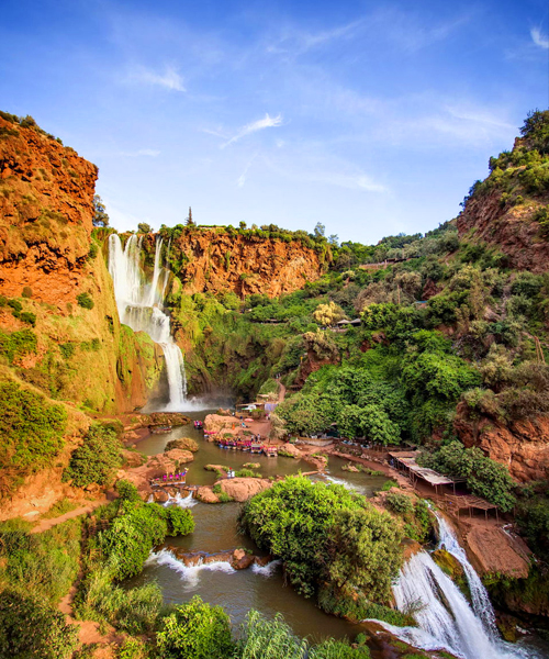 Full Day trip To Ouzoud Waterfalls & The Middle Atlas Mountain